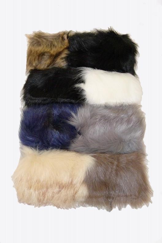 Faux Fur Head Warmer Headband