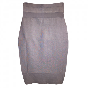 Gray-Bandage-Skirt