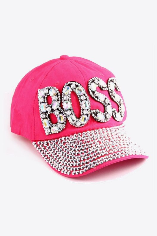 Pink Boss Hat