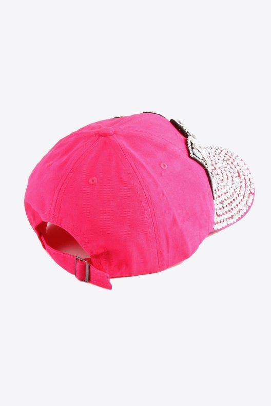 Pink Boss Hat Back