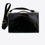 gold box clutch, rhinestone box clutch, evening bag, evening clutch