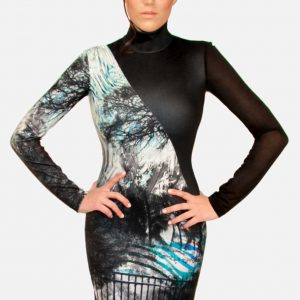 La Pateau, La Pateau images, La Pateau in womens clothing, Exotic Scuba Bodycon Dress