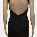 Wow Couture, Black Mirror Dress Back