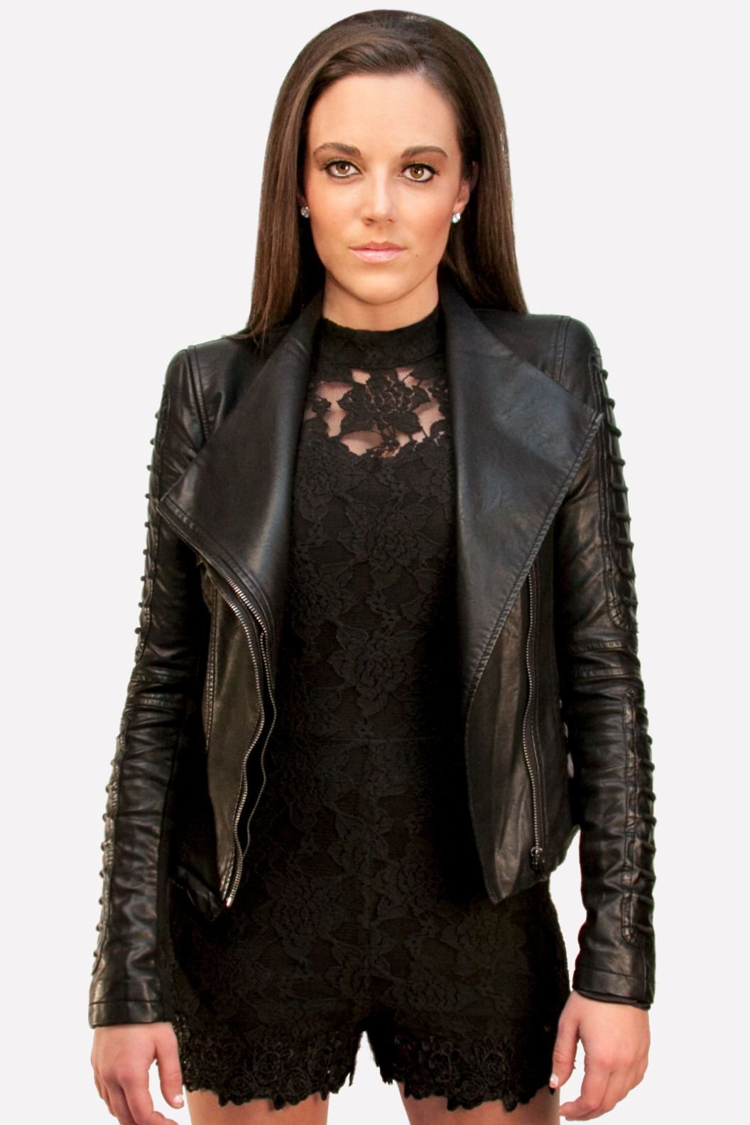Black Leather Jacket Very Trendy | SkyStruk