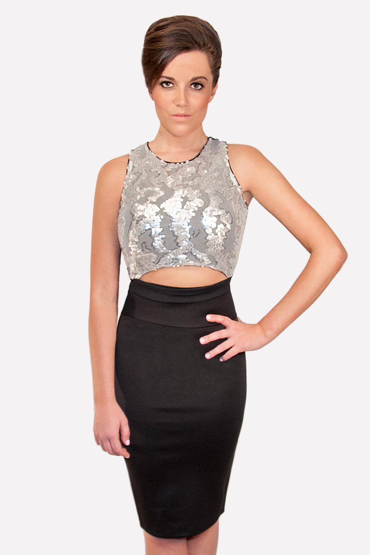 Black Stretchy Skirt