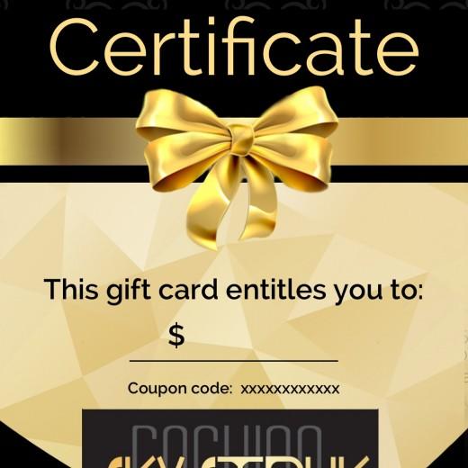SkyStruk Gift Card