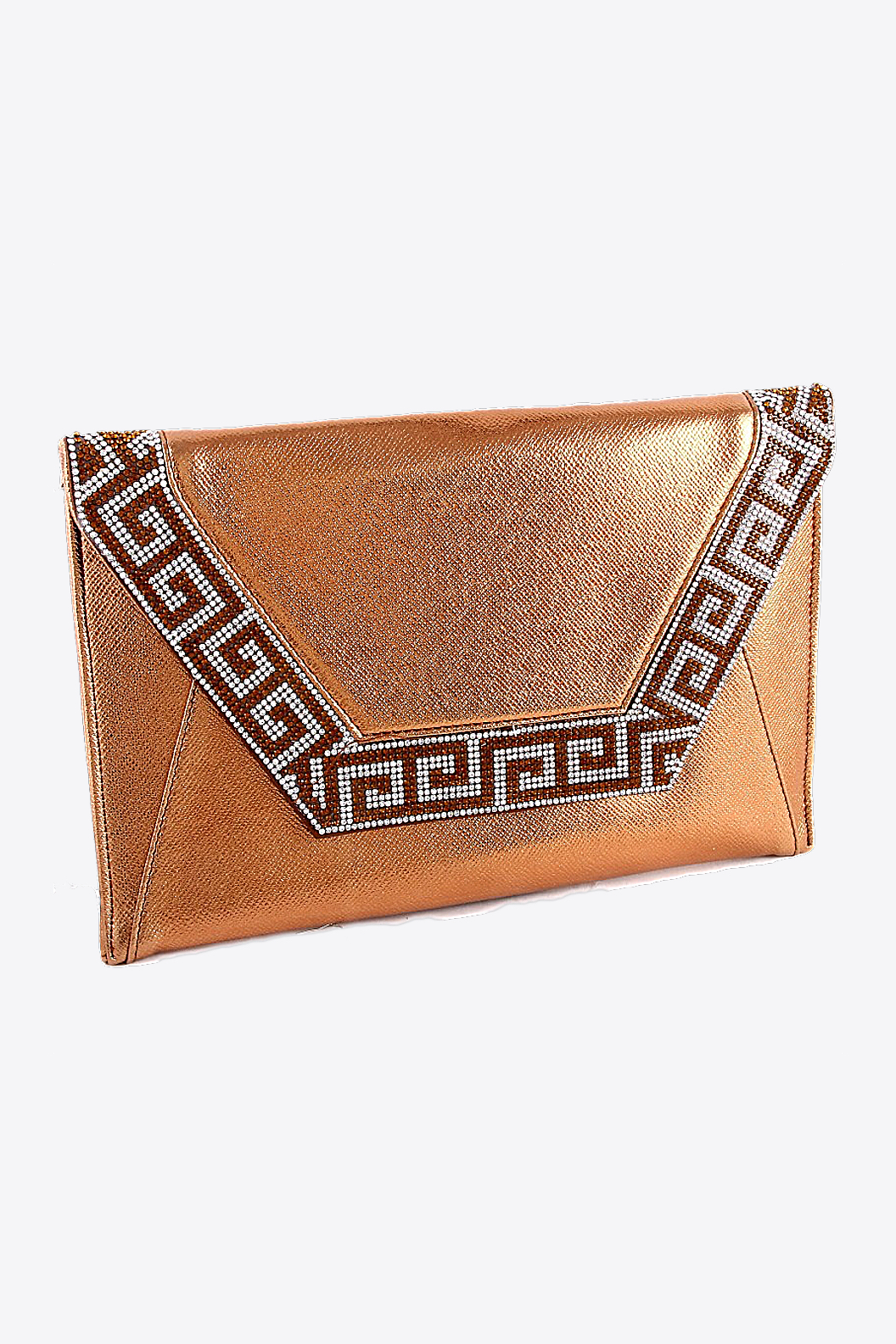 Copper Clutch Purse
