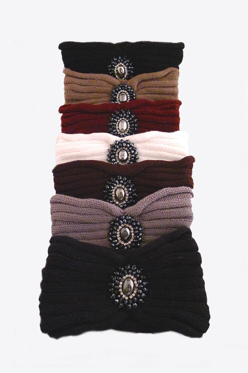 headband, ear warmer, headband with pendant, ear warmer with pendant